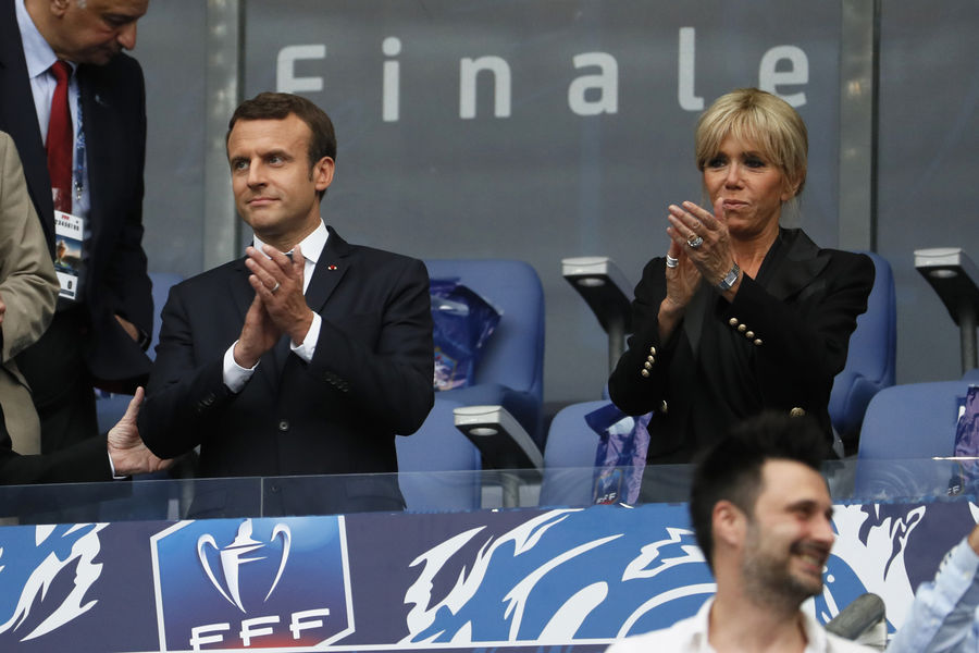 Sports Sports Emmanuel Macron, sa première au Stade de France