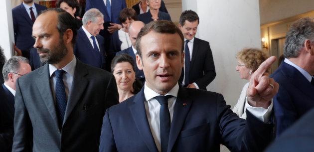 Actualite Actualite Les Français jugent positivement les premiers pas d'Emmanuel Macron