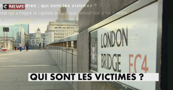 Actualite Actualite Trois Français tués dans l'attentat de Londres