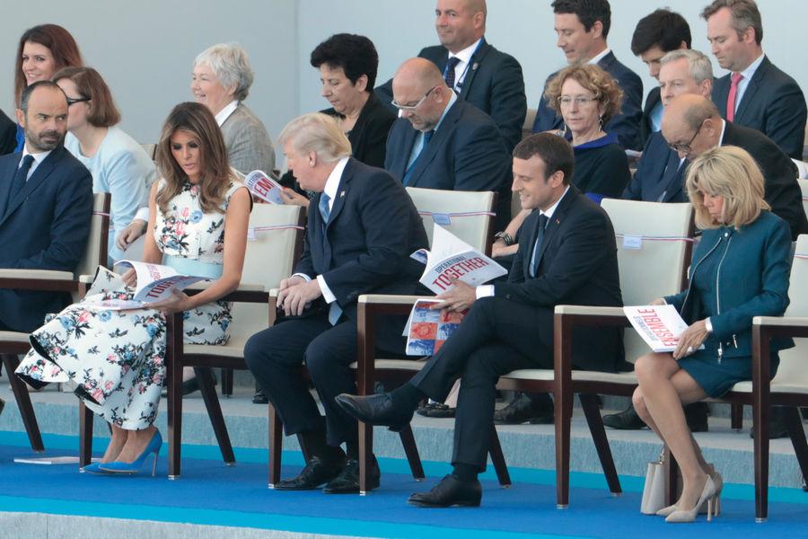 Actualite Actualite Brigitte Macron, le premier 14 Juillet d'une Première Dame