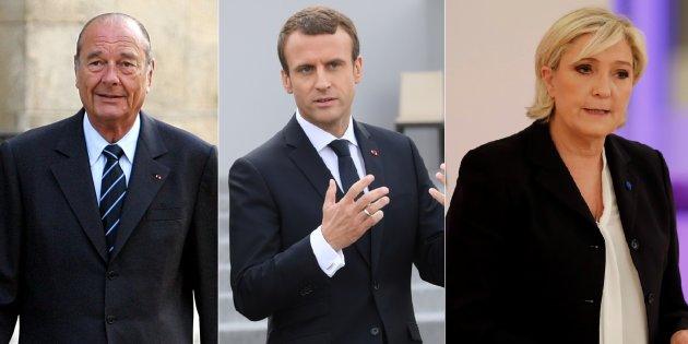 Actualite Actualite En réaffirmant la responsabilité de la France, Macron rend hommage à Chirac et règle ses comptes avec le FN