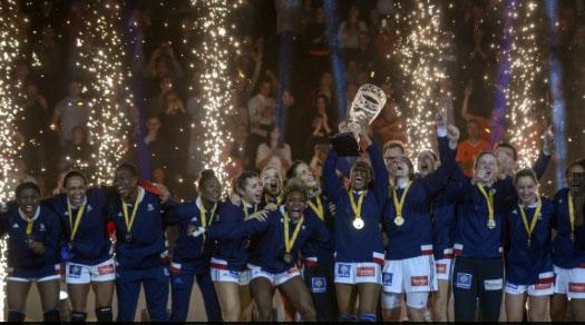 Sports Sports Hand: la France règne sur le monde