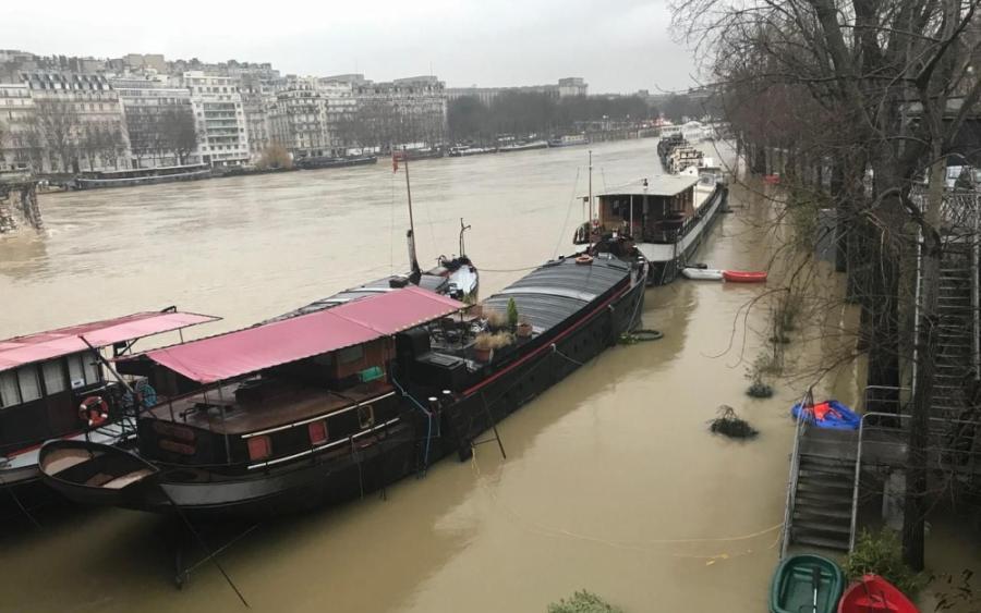 Paris Paris «Entre 5,80 m et 6,20 m», le pic de crue arrive demain