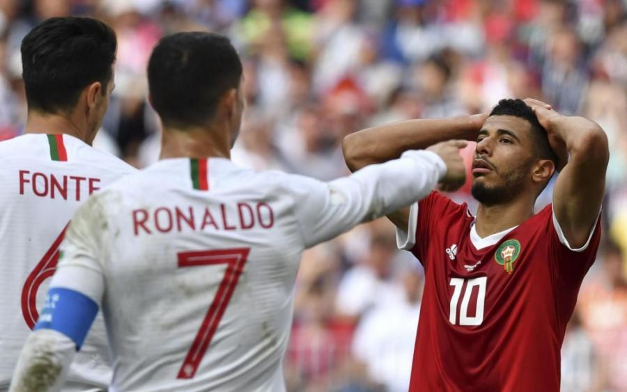 Sports Sports Coupe du monde : le nouveau but de Ronaldo élimine le Maroc