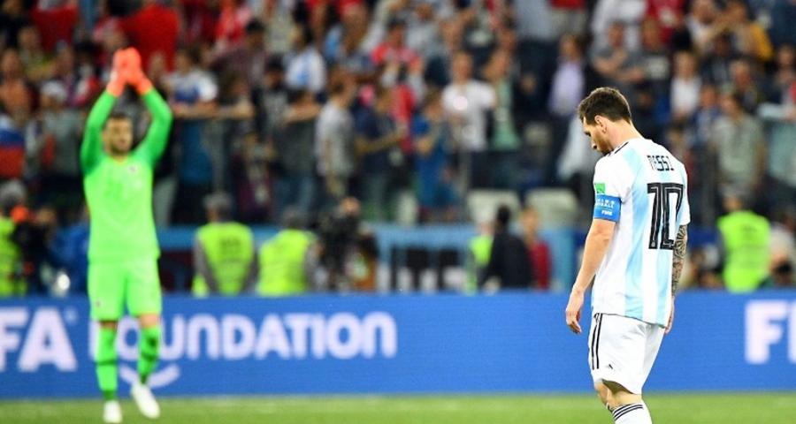 Sports Sports Mondial-2018: l'Argentine humiliée par la Croatie et au bord de l'élimination