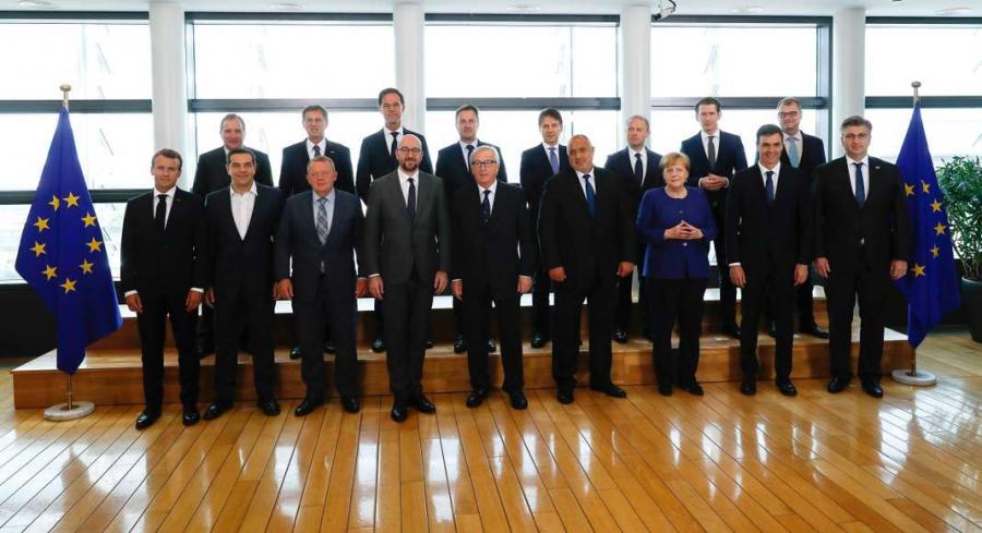 Actualite Actualite Sommet sur les migrants à Bruxelles : des dirigeants européens «satisfaits» mais sans conclusion commune