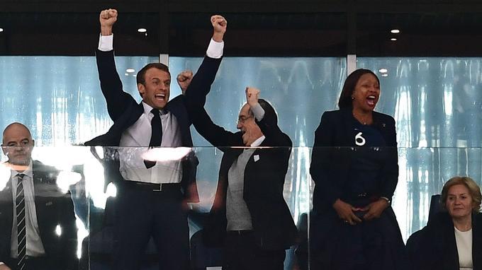 Actualite Actualite Emmanuel et Brigitte Macron assisteront à la finale de la Coupe du monde
