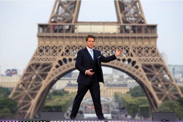 Actualite Actualite Emmanuel Macron a reçu Tom Cruise à l'Elysée