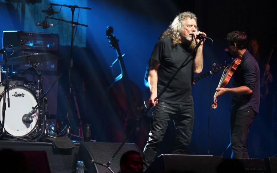 People People Robert Plant trop court salle Pleyel à Paris