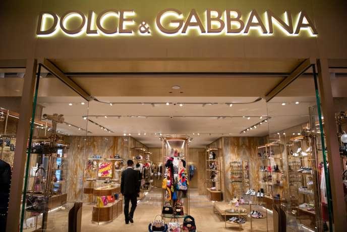 International International Des vidéos de Dolce & Gabbana font scandale en Chine