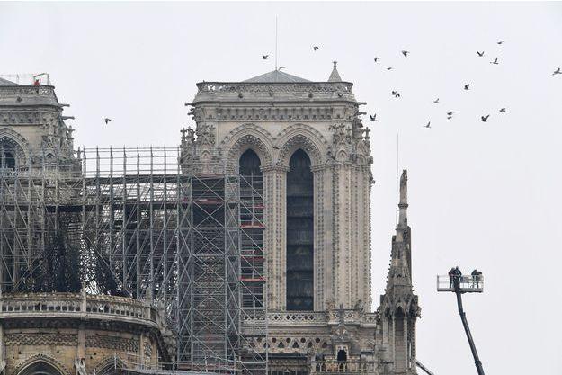 Paris Paris Paris: Il dessine Quasimodo en courant pour rendre hommage à Notre-Dame de Paris
