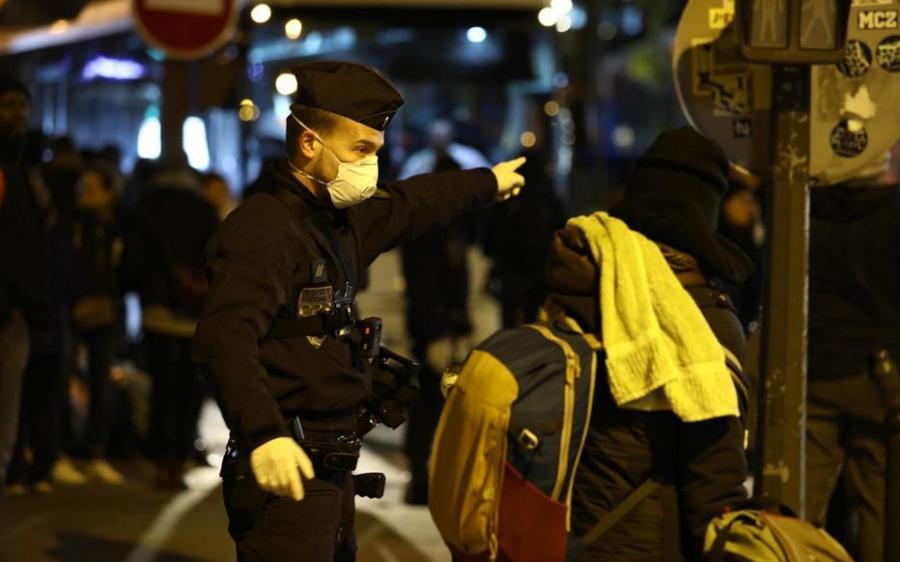 Paris Paris Paris : évacuation du vaste camp de migrants et toxicomanes porte d'Aubervilliers