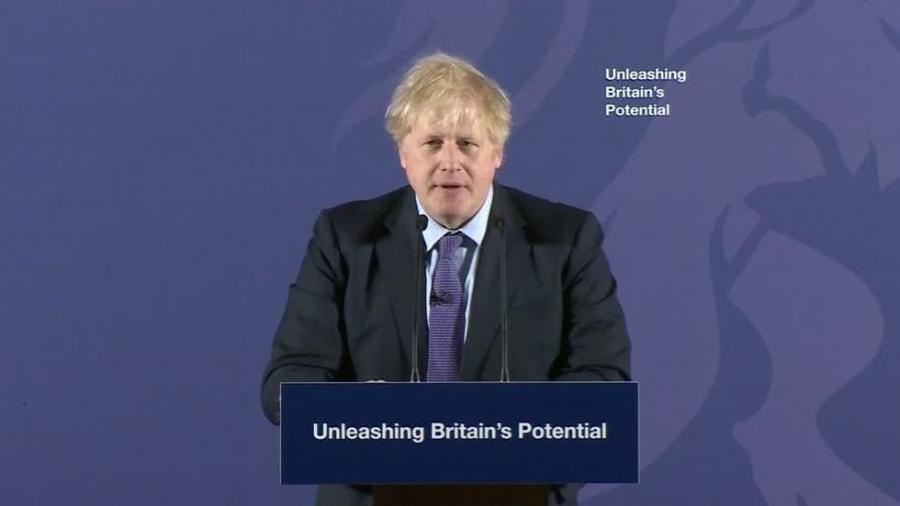 """International International Après Michel Barnier, Boris Johnson appelle à """"une relation forte avec l'UE"""" pour l'après-Brexit"""