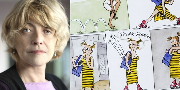 """Actualite Actualite Claire Bretécher, dessinatrice des """"Frustrés"""" et d'""""Agrippine"""", est morte à 79 ans"""