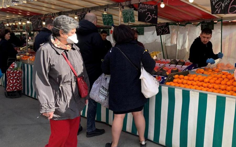 Paris Paris Réouverture des marchés entre soulagement… et appréhension
