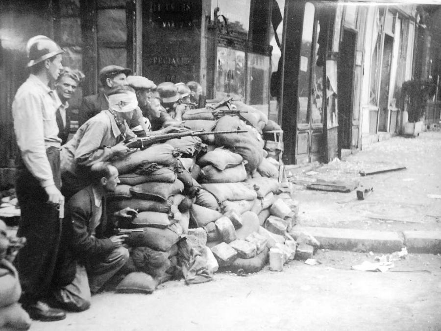 Paris Paris Il y a 77 ans, éclataient les premiers combats pour la Libération de Paris